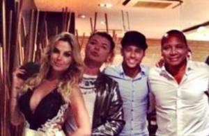 Robertha Portella nega romance com Neymar: 'Não namoro e nem fico com ele'