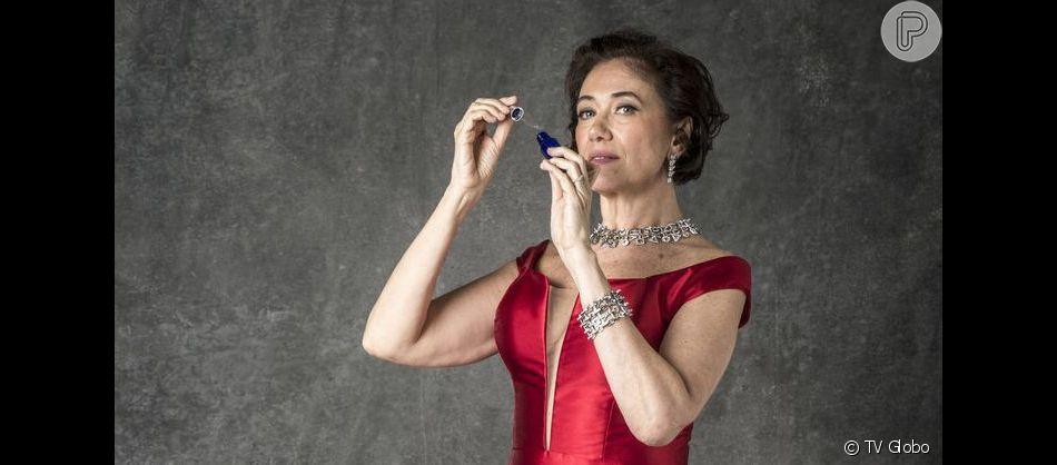 Valentina (Lília Cabral) não é acusada por morte de Olavo (Tony Ramos), herda casarão e transforma em instituto arqueológico na novela 'O Sétimo Guardião'