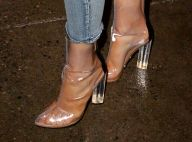 Naked heels: sandália transparente e salto de cristal está de volta! Vai nessa?