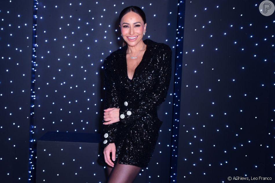 Sabrina Sato estrela sessão de fotos seminua antes da festa de 44 anos da Vogue Brasil, nesta segunda-feira, dia 13 de maio de 2019