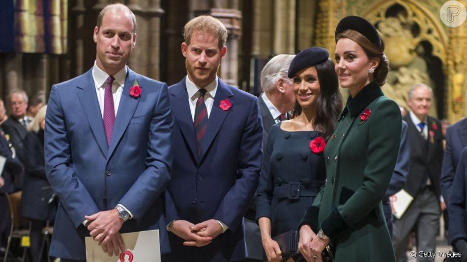 Kate Middleton e Príncipe William já conheceram o novo bebê real