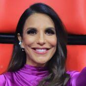 Em rua, Ivete Sangalo ganha de fãs festa antecipada de aniversário de 47 anos
