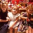 Filha de Yanna Lavinge e Bruno Gissoni, Madalena ganhou festa de aniversário antecipada de 2 anos com a Minnie como tema