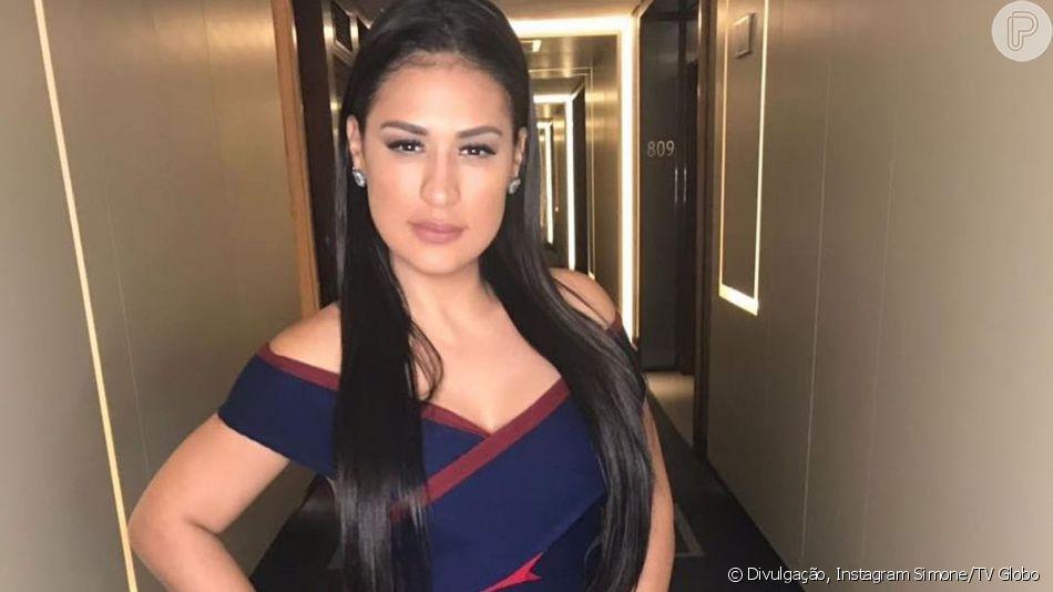 Simone, dupla de Simaria, relatou ter sonhado com Gabriel Diniz, vítima de acidente aéreo nesta segunda-feira, 27 de maio de 2019
