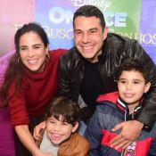 Wanessa Camargo leva filhos em musical e pedido a diverte: 'Mãe, para de cantar'