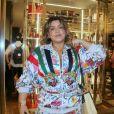 Preta Gil apostou em conjunto floral para evento Gucci