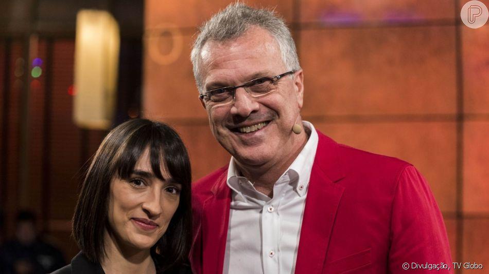 Aos 61 anos, Pedro Bial será pai pela 7ª vez, informa a colunista de TV Patricia Kogut, do jornal 'O Globo', neste sábado, 8 de junho de 2019