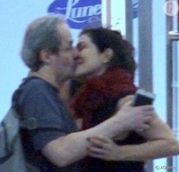 Juntos! Letícia Sabatella assumiu namoro com Daniel Dantas: 'Amoroso, consciente, íntegro, delicado, grande'