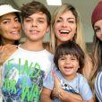 Suzanna, filha de Latino e Kelly Key, adotou sobrenome de Mico Freitas em sua certidão