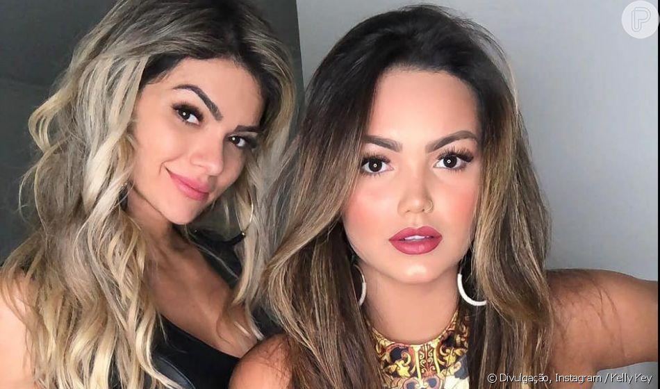 Semelhança entre Kelly Key e a filha, Suzanna Freitas, impressiona