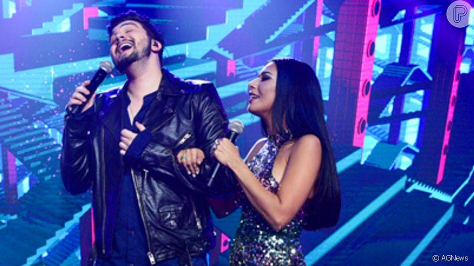 Dupla de Simone, Simaria elogia Luan Santana após polêmica da música 'Juntos e Shallow Now' nesta quinta-feira, dia 12 de junho de 2019