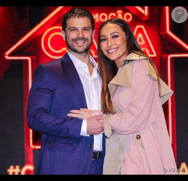 Sabrina Sato anunciou casamento com Duda Nagle: 'Do começo do ano que vem não passa'
