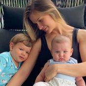 Fofura! Andressa Suita mostra o filho brincando com lagartixa: 'Que lindo'