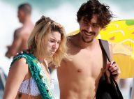 Após término com Sasha, Bruno Montaleone curte praia acompanhado. Veja fotos!