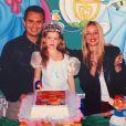 Uma princesa! Marina Ruy Barbosa se fantasiou de Cinderela em aniversário na infância