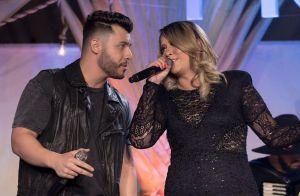 Marilia Mendonça elogia namorado, Murilo Huff, após beijo: 'É bonito, né?'