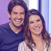 Casamento de Rebeca Abravanel e Pato teve Silvio Santos 'tietando' casal. Vídeo!