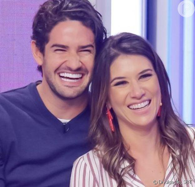 Casamento de Rebeca Abravanel e Pato teve Silvio Santos 'tietando' casal. Confira vídeo postado pela apresentadora nesta segunda-feira, dia 01 de julho de 2019