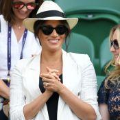 Meghan Markle homenageia filho, Archie, com joia em look para Wimbledon. Fotos!
