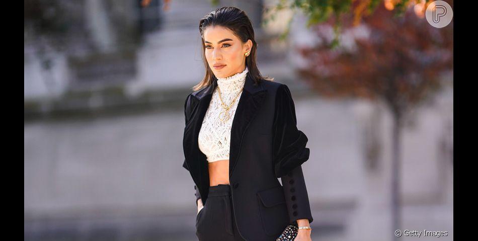 Blazer preto é curinga fashion no guarda-roupa! Inspire-se em 7 looks com a peça