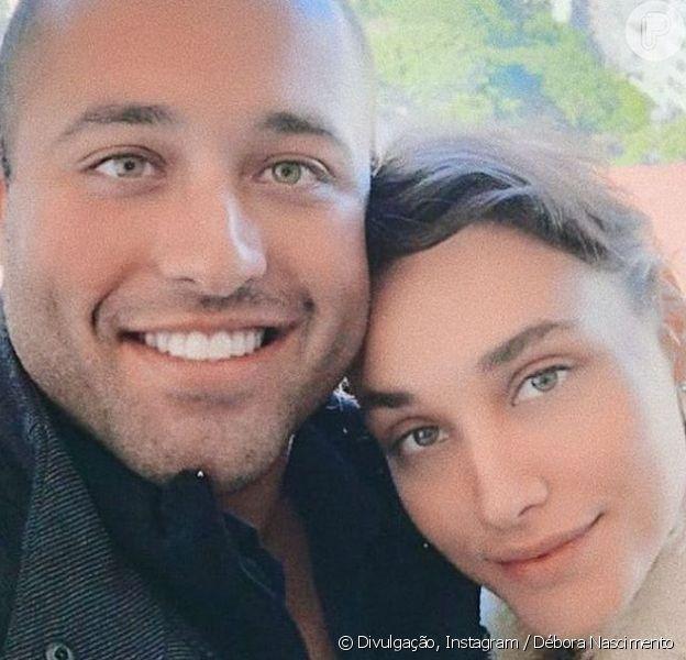 Semelhança entre Débora Nascimento e irmão impressiona em foto e fãs tietam atriz: 'Oi, cunhada'
