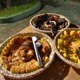 Aniversário da cantora Márcia Fellipe teve comidas típicos das festas julinas