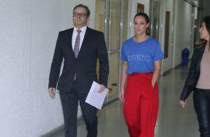 Paolla Oliveira presta depoimento sobre vídeo íntimo falsamente atribuído a ela