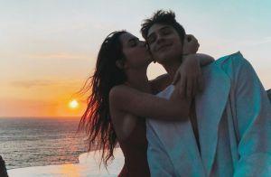 João Guilherme aproveita viagem romântica com Jade Picon na Grécia: 'Sol e amor'