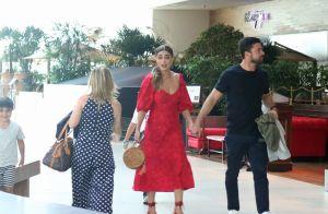 Juliana Paes curte folga de novela no cinema com marido e os filhos. Fotos!