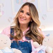 Decoração do quarto da filha de Ticiane Pinheiro tem cupcakes:'Família biscoito'