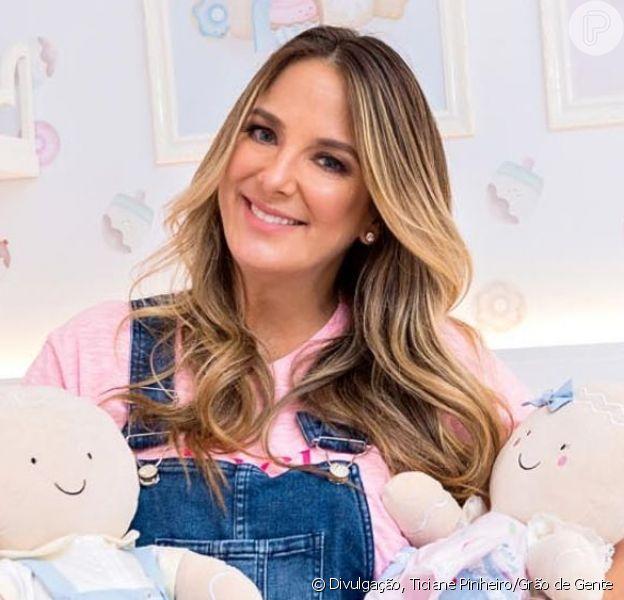 Filha de Ticiane Pinheiro e Cesar Tralli, Manuella ganhou quartinho que tem como tema 'Família Biscoito'