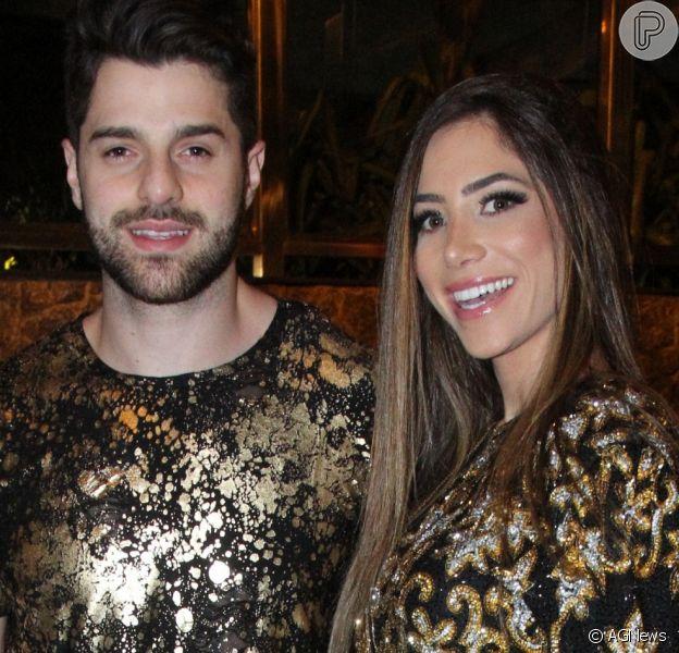 Romana Novais ouve batimentos cardíacos do primeiro filho com DJ Alok: 'Melhor música'