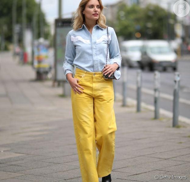 Camisa jeans em 9 looks da moda para você copiar e dicas para variar na  produção - Purepeople