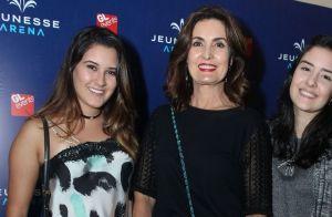Fátima Bernardes opina sobre foto com a filha Beatriz: 'Ficamos parecidas'