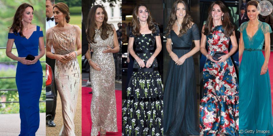 Vestido De Festa Com Kate Middleton 20 Fotos Com A Moda Da