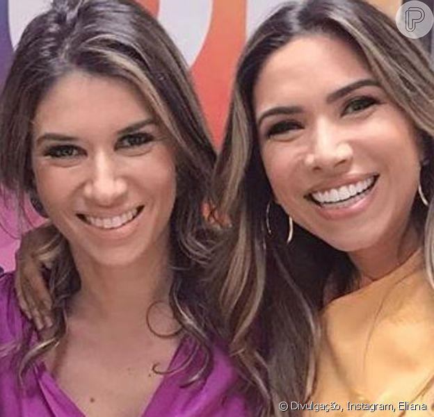 Patricia Abravanel exibe foto do casamento da irmã Rebeca Abravanel nesta quinta-feira, dia 15 de agosto de 2019