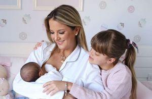 Ticiane Pinheiro indica desafio nos cuidados das filhas: 'Idades tão diferentes'