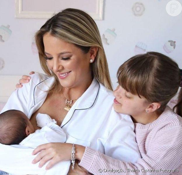Ticiane Pinheiro relatou desafio de ser mãe de duas meninas: 'Se desdobrar para dar conta de tudo e todos'