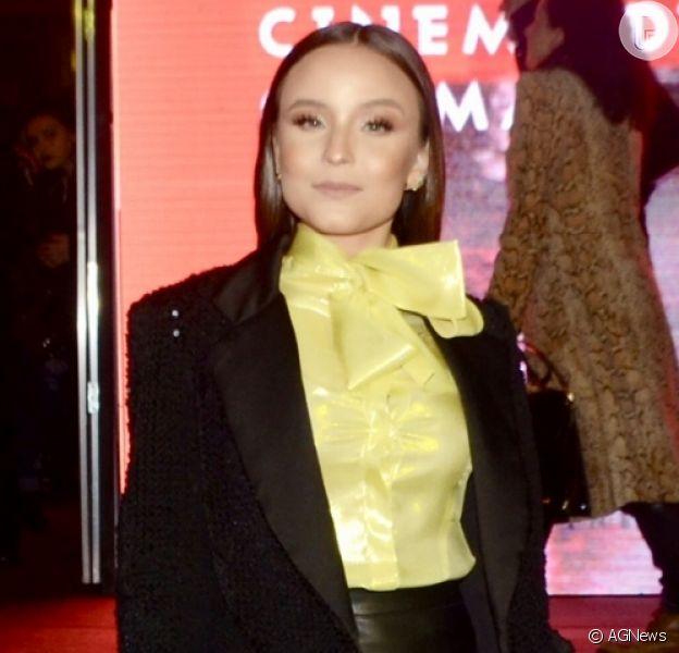 Larissa Manoela passa pelo tapete vermelho do 47º Festival de Cinema de Gramado 2019