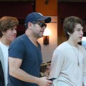 Murilo Benício passeia com filho caçula e altura de Pietro chama atenção. Fotos!
