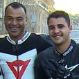 Filho mais velho de Cafu, Danilo Feliciano de Moraes morreu vítima de um infarto aos 30 anos