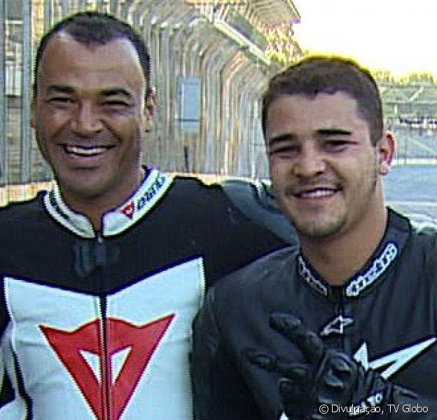 Filho mais velho de Cafu,Danilo Feliciano de Moraesmorreu vítima de um infarto aos 30 anos