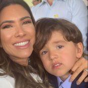 Patrícia Abravanel justifica semblante do filho no 7 de setembro: 'Ele amou'