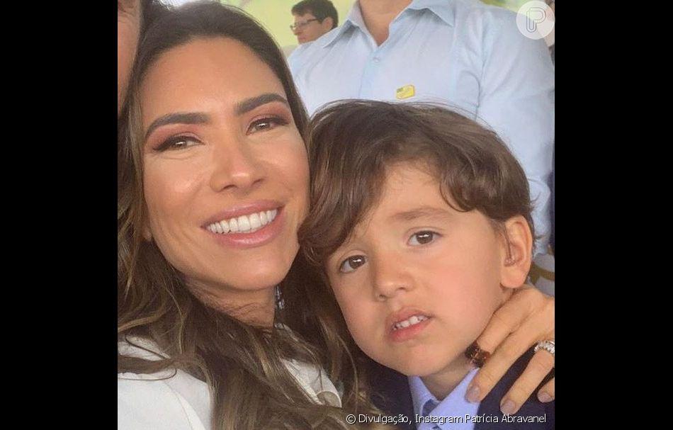 Patrícia Abravanel foi com parte de sua família assistir ao desfile de 7 de setembro em Brasília