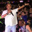 Mart'nália comemorou aniversário durante show no Rio