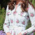 Kate Middleton usa cinto para marcar a cintura em inauguração de jardim nesta terça-feira, dia 10 de setembro de 2019
