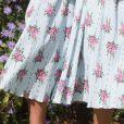Kate Middleton usa vestido com saia fluída para inauguração de jardim nesta terça-feira, dia 10 de setembro de 2019