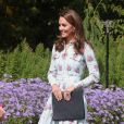 Vestido de Kate Middleton é avaliado em R$ 10 mil em inauguração de jardim nesta terça-feira, dia 10 de setembro de 2019