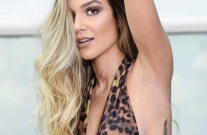 Irmã de Luan Santana, Bruna ganha elogios em foto na praia: 'Ótima genética'