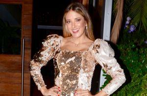 Parecidas? Tici Pinheiro compara foto de infância com imagem da filha Manuella